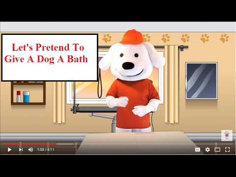 Let 39 S Pretend To Give A Dog A Bath Storytime Pup