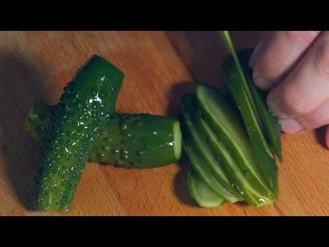 Рецепт быстрых малосольных огурчиков в домашних условиях моей мамульки!