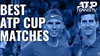 Best Matches at the 2020 ATP Cup!