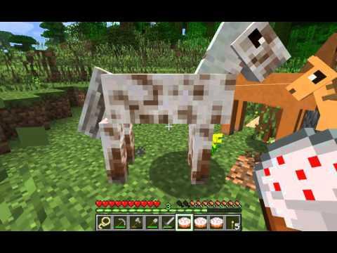 Minecraft Mods   Better Horses Mod! NEW Animated Horses ...