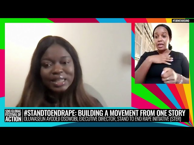 #StandToEndRape: Building a Movement from One Story (Spanish)
