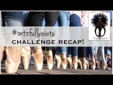 14 Ballet Tips for your pointe work from the #OntoFullPointe Challenge!