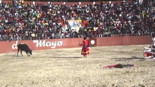 corrida de toros huanuco - dos de mayo - launion 2011