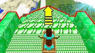 НУБ ПОСТРОИЛ ИЗУМРУДНУЮ ГОРКУ В Майнкрафте! Minecraft Мультики Майнкрафт троллинг Нуб и Про