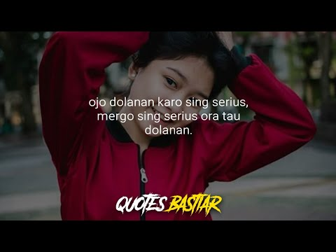Kata Kata Keren Buat Story Wa Bahasa Jawa Kumpulan Gambar Meme