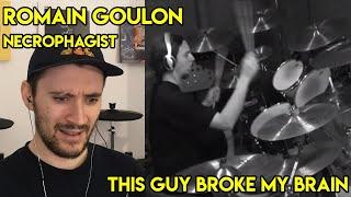 Drum Teacher reacts to Romain Goulon from Necrophagist