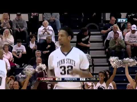 Jordan Dickerson Dunk vs. Louisiana-Monroe