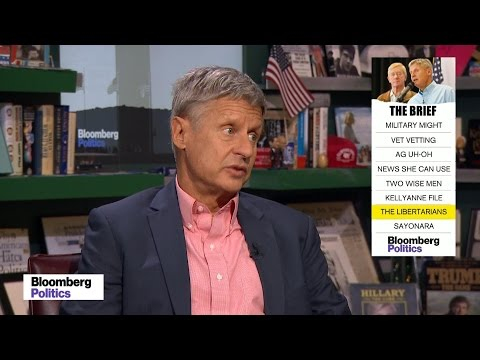 Gary Johnson on Legalizing Prostitution