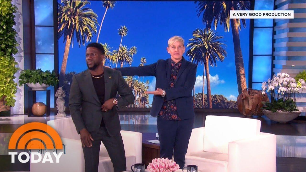 Ellen Degeneres Support For Kevin Hart As Oscars Host