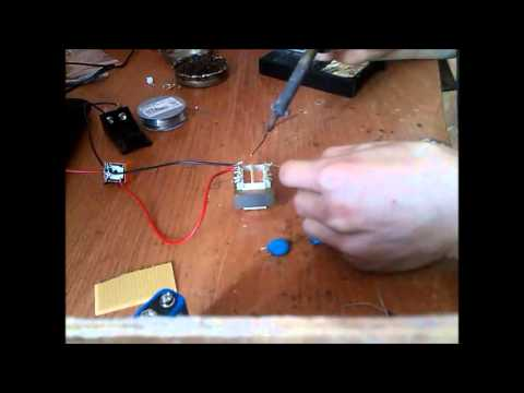 hqdefault how to build simple taser youtube flashlight taser wiring diagram at eliteediting.co