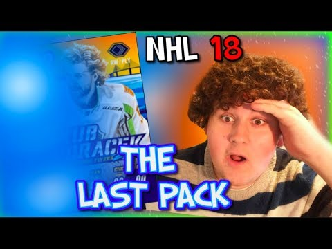 THE LAST PACK!!! NHL 18 ALL STAR PACKS, SETS, PLAYERS AND CS REWARDS!!!!