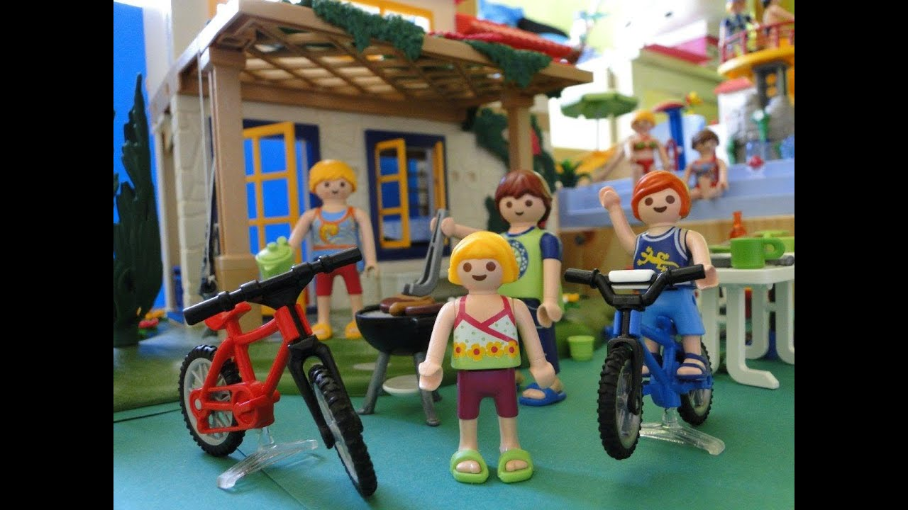 Barbecue Et Jardin Playmobil Maison - Youtube