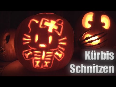 halloween diy k rbis schnitzen youtube