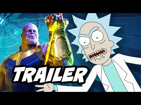 Rick and Morty Season 3 Episode 4 Promo - Infinity War Parody