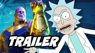 Rick and Morty Season 3 Episode 4 Promo - Infinity War Parody