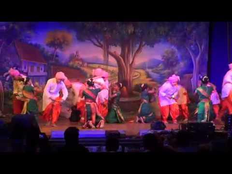 Maharashtra Folk Dance Lezim
