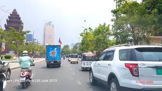 Amazing City Street View and Travel   Phnom Penh Capital   Kingdom of Cambodia