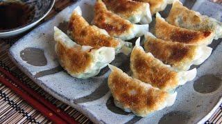 Shrimp Gyoza Recipe - Japanese Cooking 101