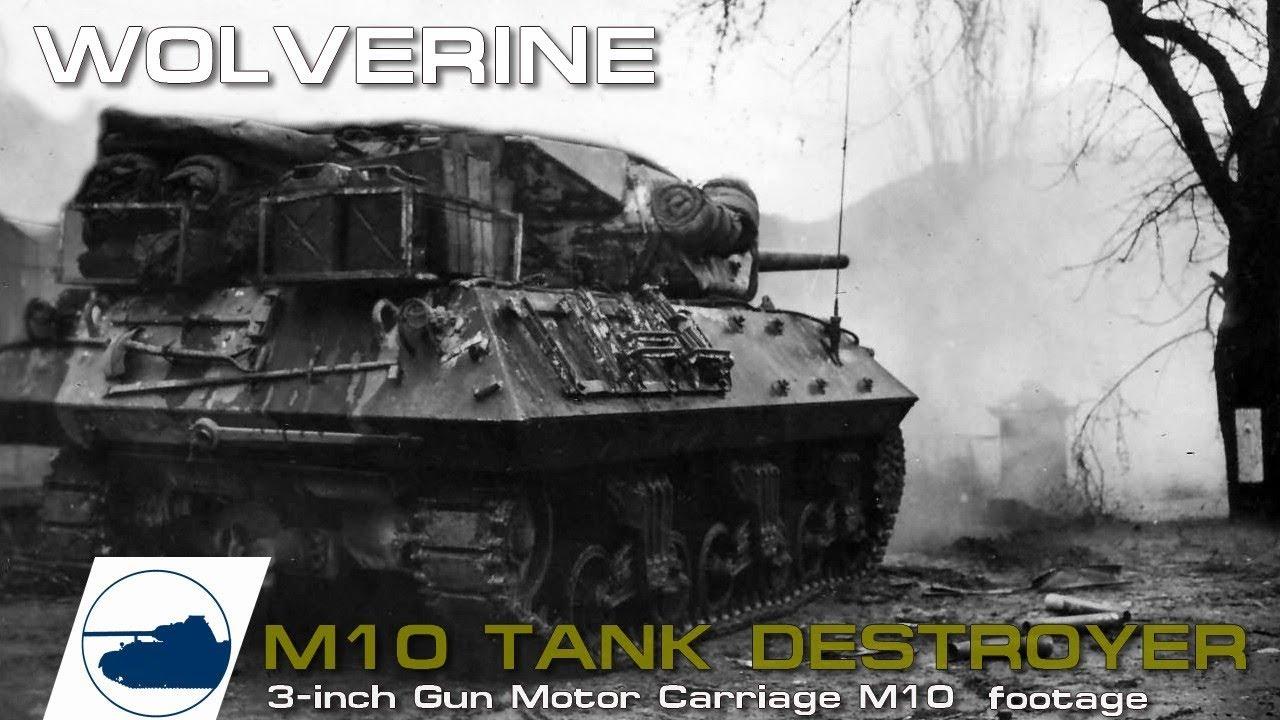 Download WW2 M10 Wolverine footage. Part 1.