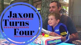 Jaxon Turns 4!
