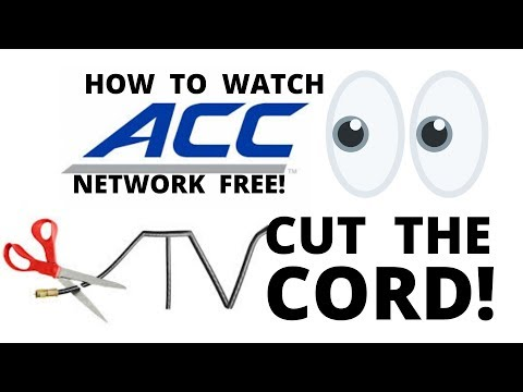 How To Watch Free Live ACC Network Without Cable TV, Cut The Cord Online Stream