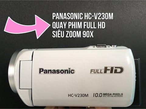 Máy Quay Phim PANASONIC HC-V230M Siêu ZOOM 90X Full HD