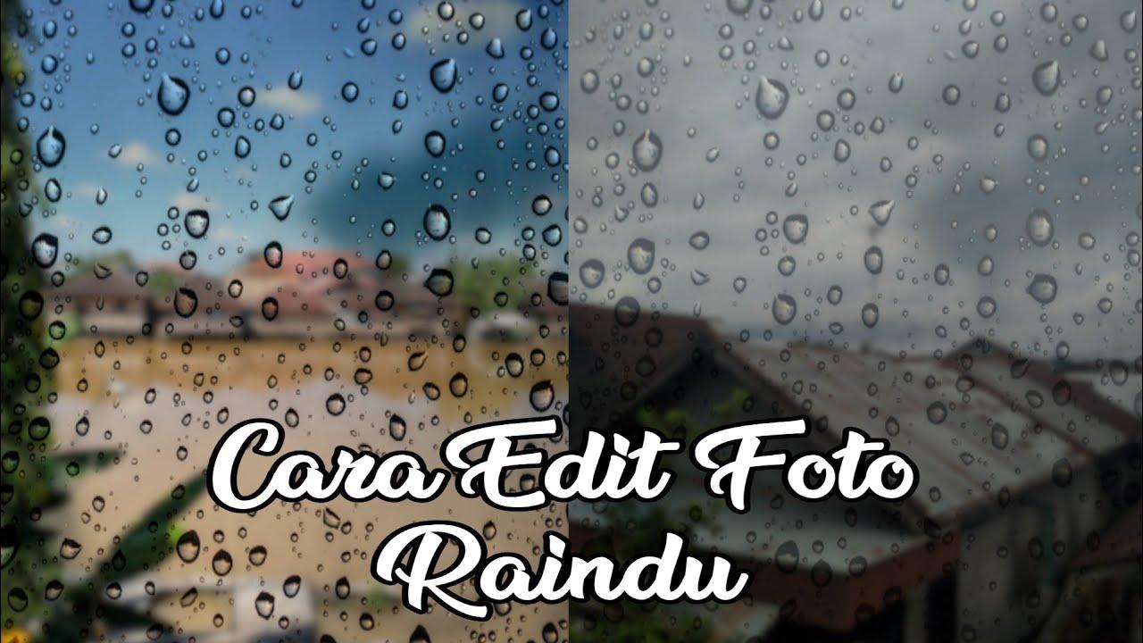 Cara Edit Foto Ala Raindu dengen Aplikasi Photoshop ...