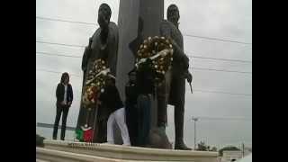 Conmemoracion del desembarco en Soto La Marina de Francisco J. Mina y Fray Servando Teresa de Mier.