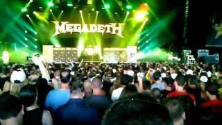 Megadeth, Hangar 18, Mayhem Fest - Camden NJ - July 31 2011