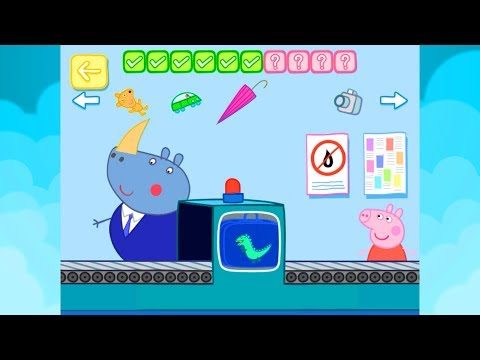 Peppa Pig Holiday - All Compilation App Gameplay