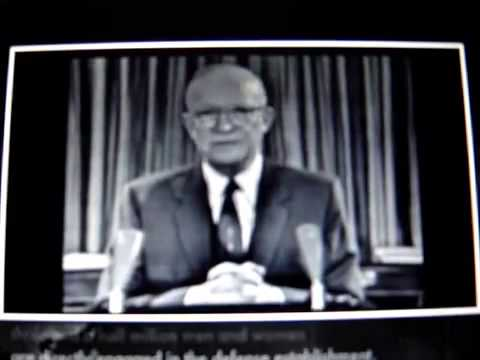 Eisenhower Warns U.S.A. of Military Industrial Complex