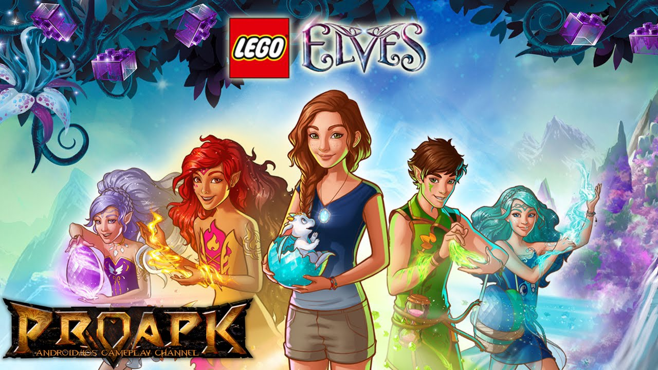 lego elves adventures in elvendale gameplay ios android