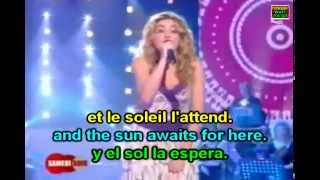 Julie Zenatti - Le soleil et la Lune - French & English Lyrics Paroles Subtitles