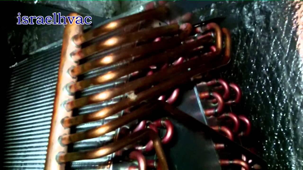 Hvac Service York Evaporator Coil Replacement Youtube