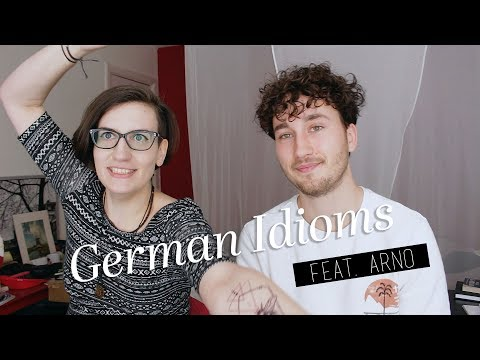 German Idioms with Arno! | daneesaur