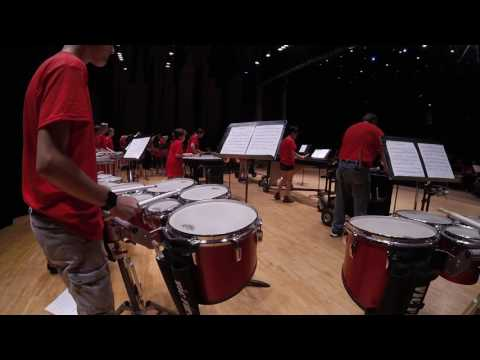 Marching in a Pinch - Live Marching Piece at Mansfield University of Pennsylvania