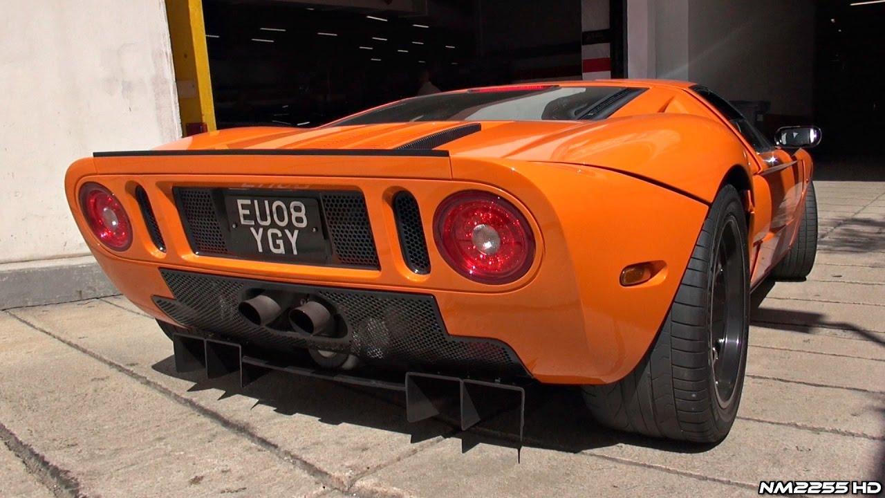 Ford Gt  Mirage Roaring V Sound In Monaco