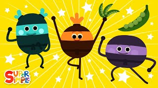 The Bumble Nums Make Sneaky Snap Pea Casserole | Ninja Cartoon