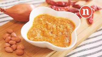 Malaysian Satay Peanut Sauce   Satay Sauce   Kuah Kacang [Nyonya Cooking]