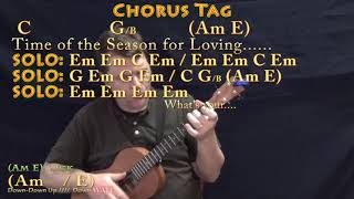Time of the Season (The Zombies) Bariuke Cover Lesson in Em with Chords/Lyrics