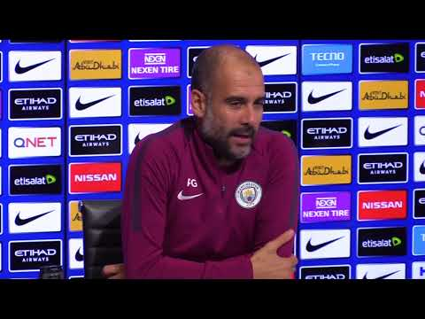 Guardiola: Aguero in contention for Stoke