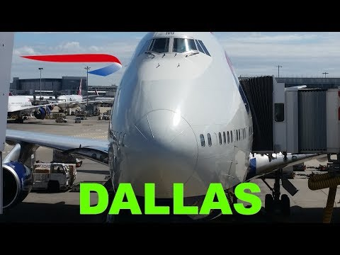 Flight Review on Boeing 747 from London Heathrow to Dallas with BA