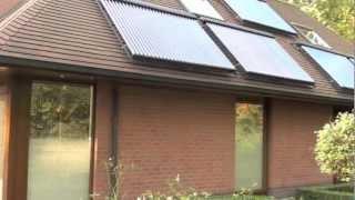 Rivusol zonneboiler voor familie Deschrijver uit Kortrijk België