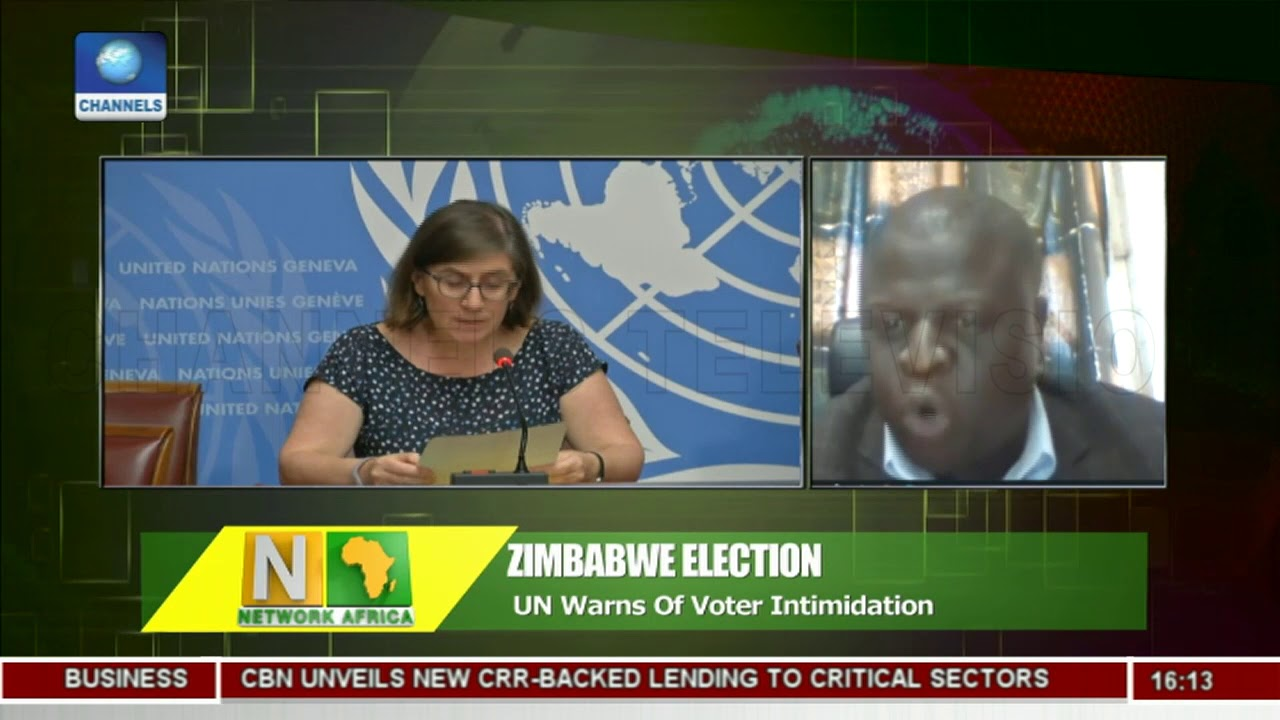 UN Warns Of Voter Intimidation In Zimbabwe Election |Network Africa|