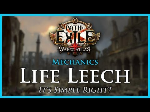 Path of Exile: Life Leech