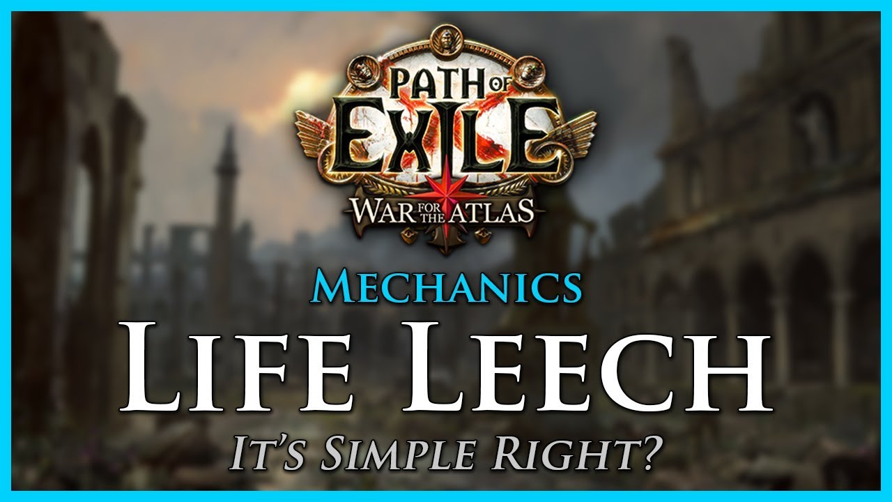 Leech - Official Path of Exile Wiki