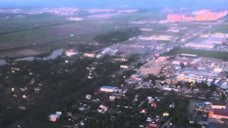 Посадка в Аэропорт Пулково, Санкт-Петербург