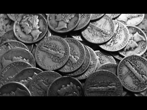 Find Of A Lifetime! So Many Mercury Dimes! Coin Roll Treasure Hunting