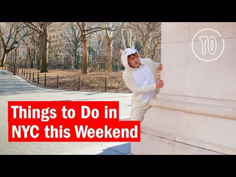 Things to Do in NYC this Weekend | February 23 - 25  2018