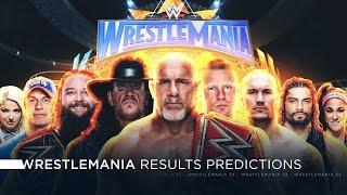 WWE Wrestlemania 33 - Results Predictions